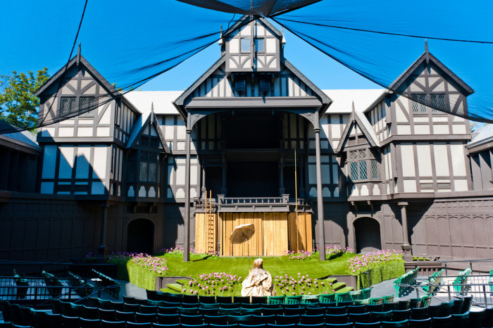 13. See Shakespeare in Ashland.