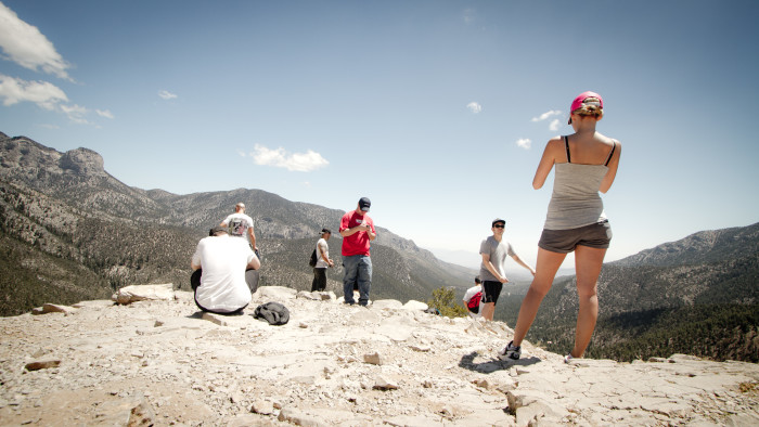 3. Hike to the top of Mt. Charleston.