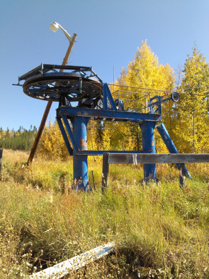 "3. ""A bittersweet relic of Ski Idlewild, a ""lost"" resort in Winter Park, Colorado."""