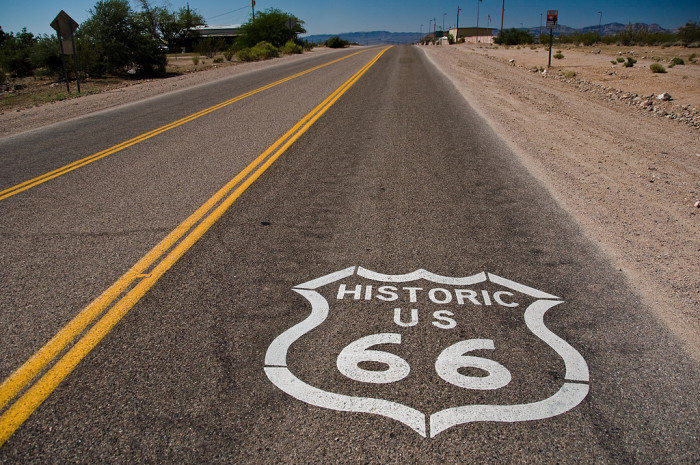 7. The Historic Route 66 was first established in 1987 here in Arizona, paving the way for other states to keep the Mother Road alive.