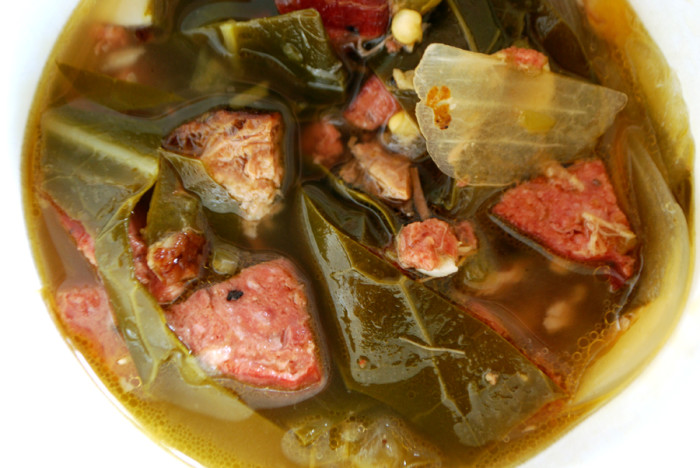 7. Collard Greens & Ham Hocks