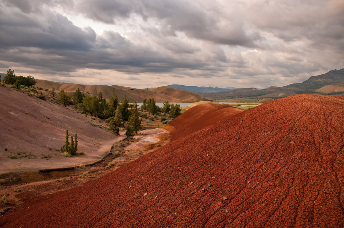 8. Visit the Painted Hills and the Fossil Beds at the John Day Fossil Beds National Monument.