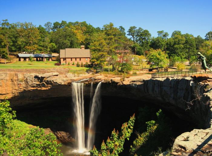 5. Visit Noccalula Falls Park.