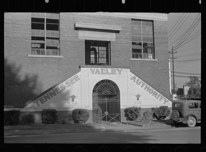 6. The powerhouse for Tupelo's electric company, Tennessee Valley Authority.