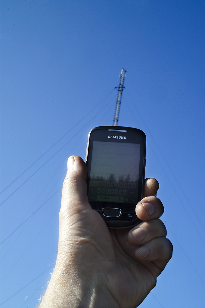 6.  Better cell phone coverage