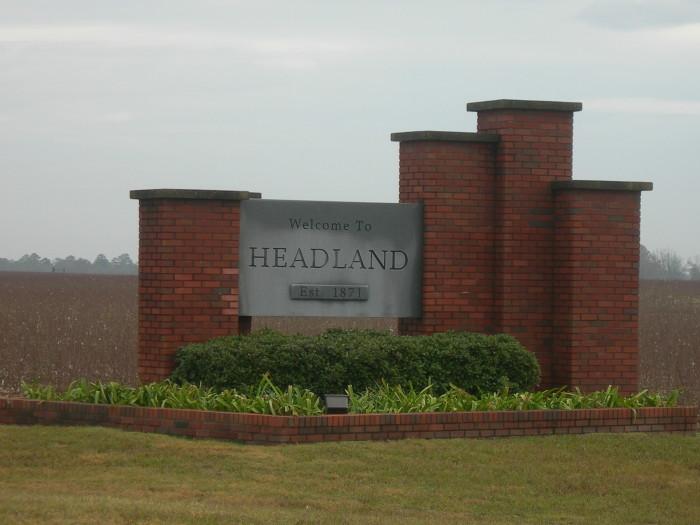 1. Headland