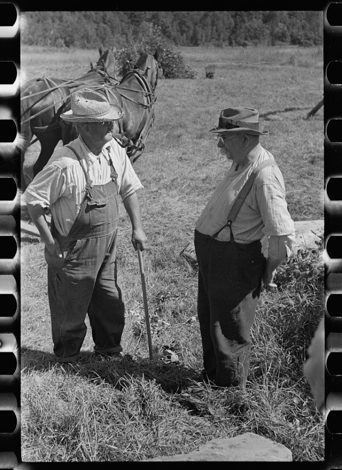 6.  Mr. Kinney and Mr. Carpenter, Eden Mills, Vermont