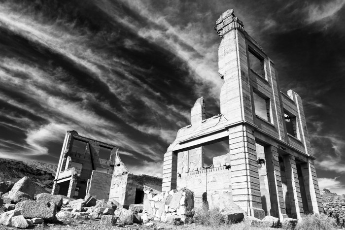 2. Explore one of Nevada's many ghost towns.