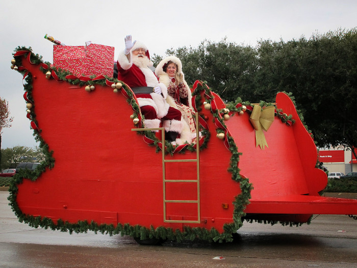 10. And small town Texas parades are basically the definition of Christmas cheer.