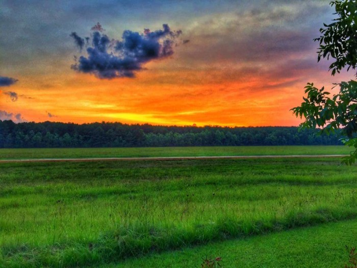 6. A Noxubee County sunset creates the perfect photo-op.