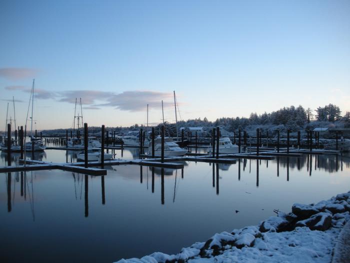 15. Bandon Harbor