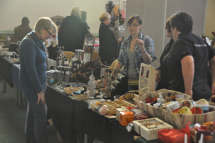 9. There's always a Christmas craft fair or bake sale to be found.