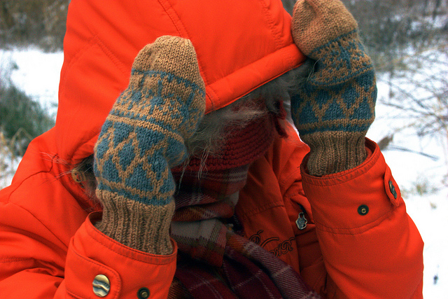 5. Time to break out the sweaters, parkas, mittens, scarves, boots, and more to stay warm.