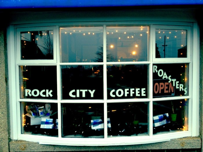 1. Rock City Coffee Roasters, Rockland
