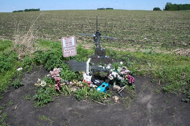 6. Clear Lake - The plane crash that killed Buddy Holly