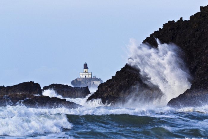 1. Tillamook Rock Lighthouse is the final resting place of around 467,000 cremated people. That's more than the entire population of Iceland.
