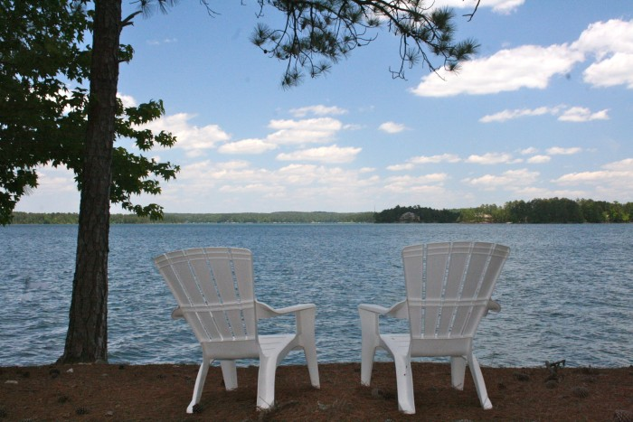 2. Grab a relaxing spot at the lake...