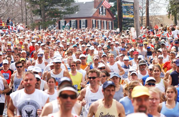 4. Don't miss the Boston Marathon.