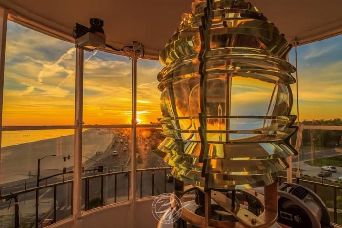 7. The Biloxi Lighthouse