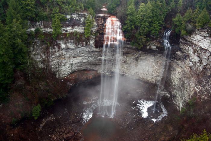 7) Fall Creek Falls