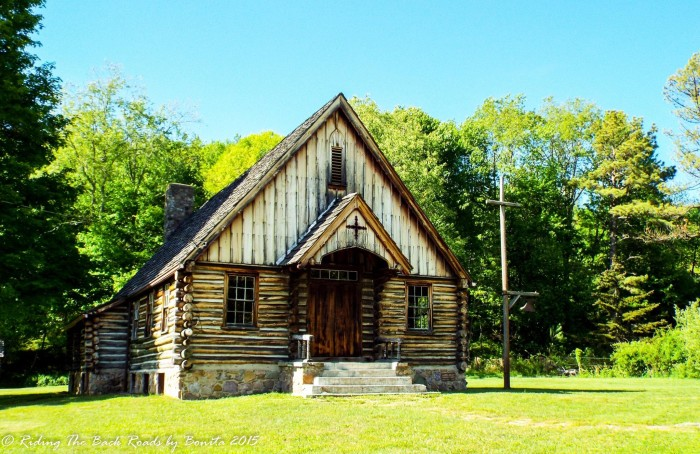 7. The Laurel Valley Community Church, est. 1945 in Whitetop.