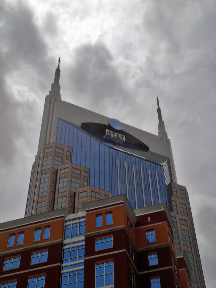 7) The ATT Building - Nashville