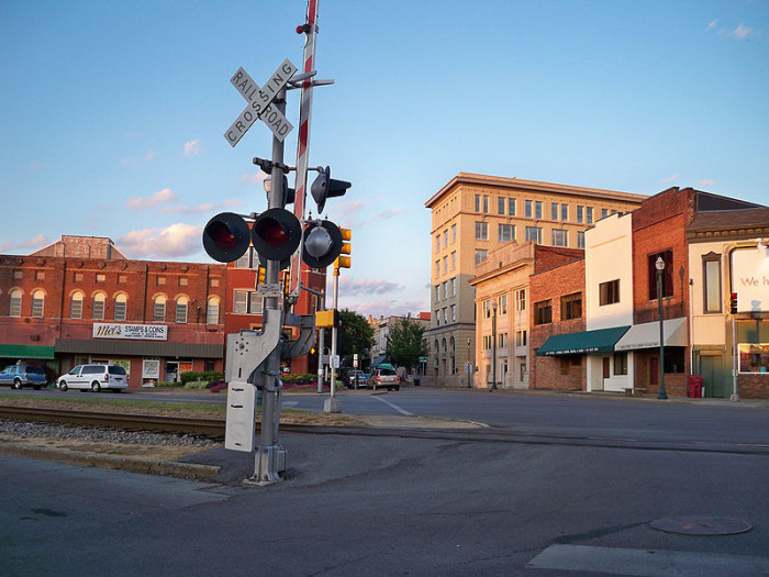 7) The greatest shot of a great little town