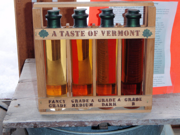 7.Vermont Maple Syrup.