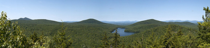 6.Panorama to the west & north from Owl's Head.
