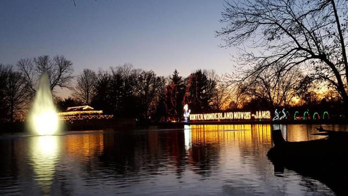 7. Winter Wonderland, Tilles Park, St. Louis County