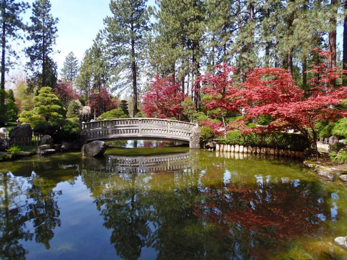 3. Nishinomiya Tsutakawa Japanese Garden, Spokane