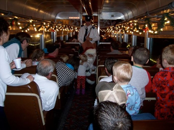 7. We even have our own Polar Express, the Boone & Scenic Valley Railway's Santa Express.