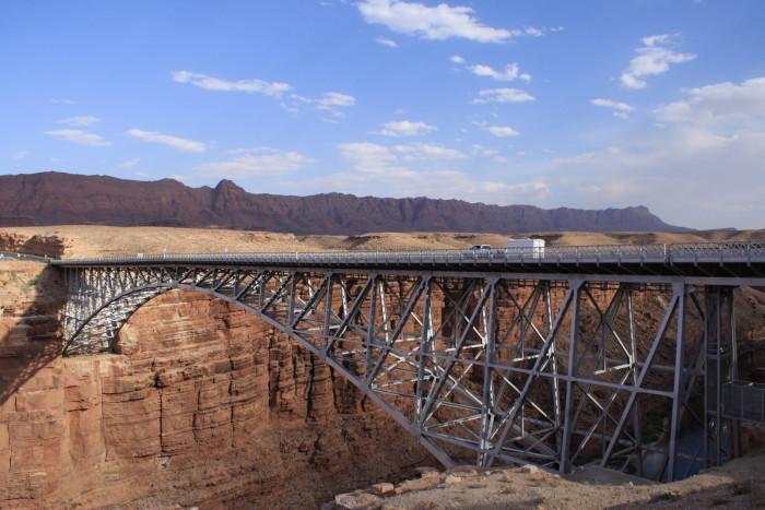 2. From the Three Billy Goats Gruff: Navajo Bridge
