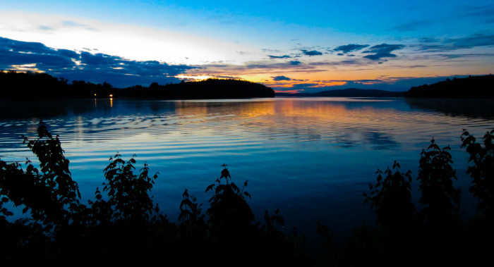 10. A Perfect Lake Sunset, Pleasant Lake