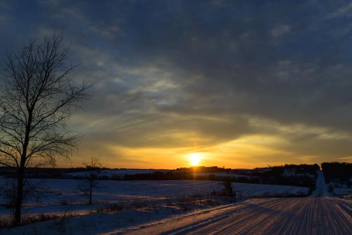 7. And 365 equally stunning sunsets.