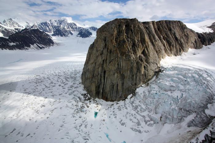 9) A beautifully frozen landscape.