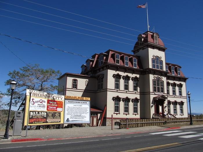 4. Fourth Ward School - Virginia City, NV