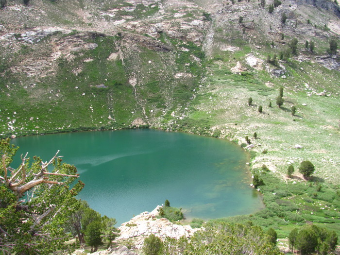 9. Lamoille Lake (Ruby Mountains) - Elko County