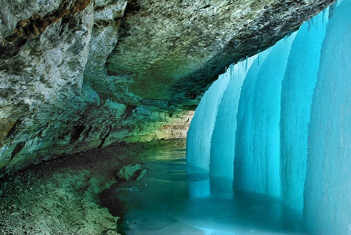 4. Minnehaha Falls is one of Minnesota's best winter destinations. The view will astound you both inside and out.
