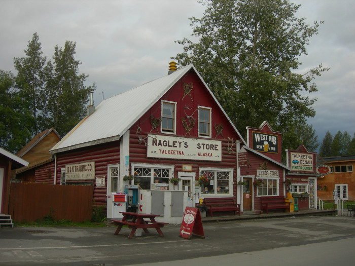 8) Nagley's General Store, Talkeetna