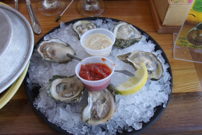 14. Nothing beats fresh Florida seafood.