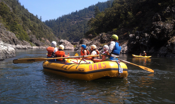 5. Paddle down the Rogue River.