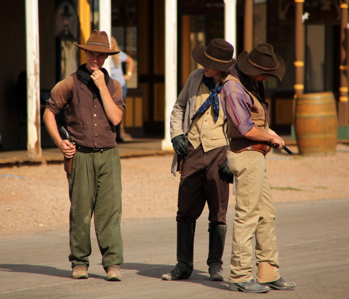 7. Tombstone – The gunfight at the O.K. Corral happens in 1881.
