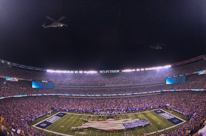 5. Where do the Jets and Giants play?