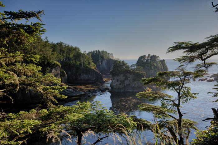 Washington: Cape Flattery
