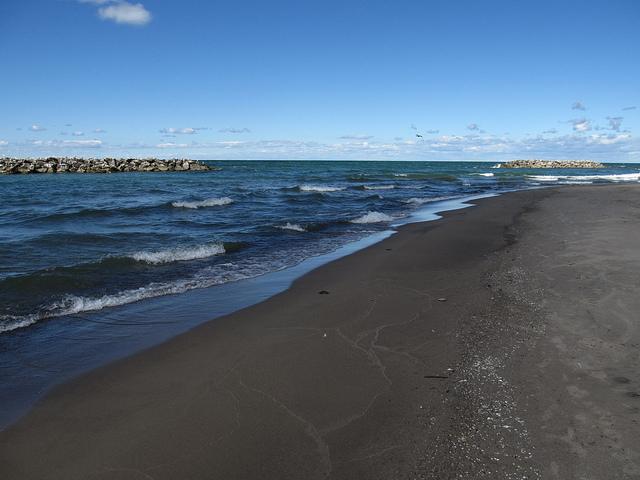 13. Our very own beach.