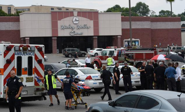 8) Antioch Theater Shooting