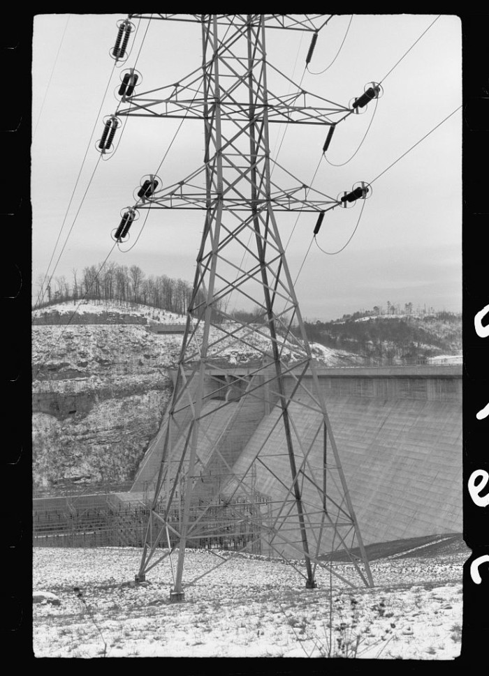 8) Norris Dam in 1940