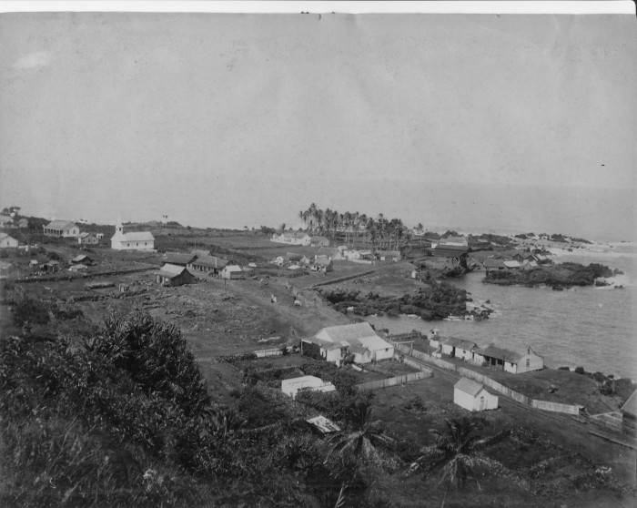 8) This photograph of Laupahoehoe Village, circa 1885, shows us how gorgeous Hawaii is – even in black and white.