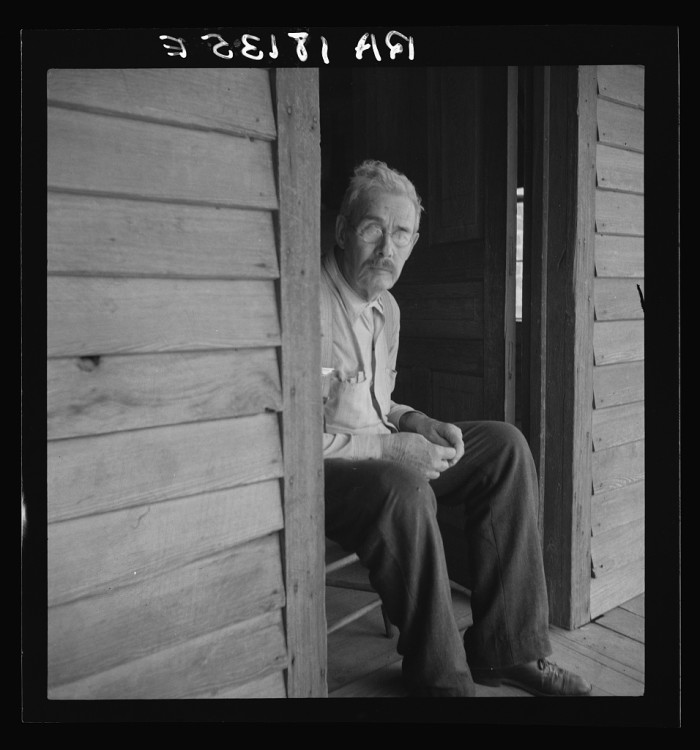 8. At the time this photograph was taken in 1938, this Chesnee man had 45 children.